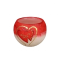 Lampion Two Hearts kula 120